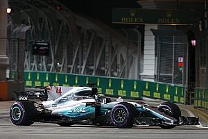 Formel 1 Rennbericht Formel 1 2017 in Singapur: Startcrash und Hamilton-Sieg