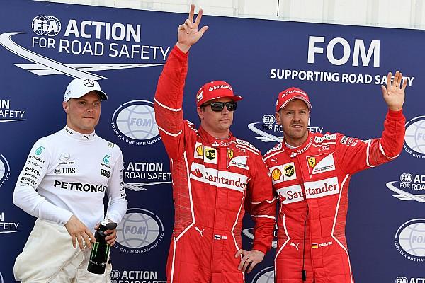 Формула 1 Репортаж з кваліфікації Гран Прі Монако: Райкконен на мить випередив Феттеля і взяв поул