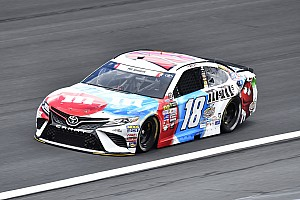 NASCAR Cup Breaking news Kyle Busch wins Stage 1 at Charlotte; Elliott and Keselowski wreck