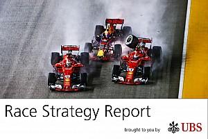 F1 Análisis James Allen, en su informe UBS, analiza la estrategia del GP de Singapur