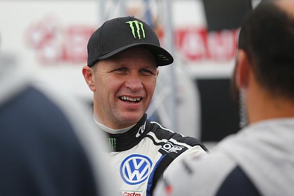 World Rallycross Breaking news Solberg suffers broken collarbone in Latvia crash