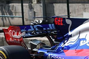 Test Hungaroring: la Toro Rosso lancia la doppia T-wing sulla STR12