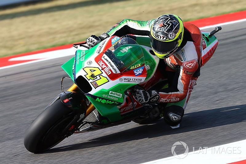 MotoGP-Rückblick 2017: Aprilia – Der Schnelle und die heiße Kartoffel