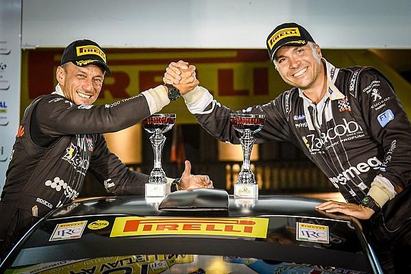 Peugeot Competition Rally 208: il trofeo va a Marcello Razzini
