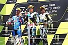 Moto2 La FIM descalifica a Pasini y le baja del podio de Barcelona
