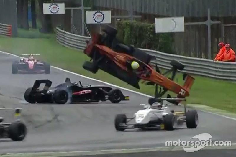 Video: che volo per Venica nella F2 Italian Trophy a Monza!