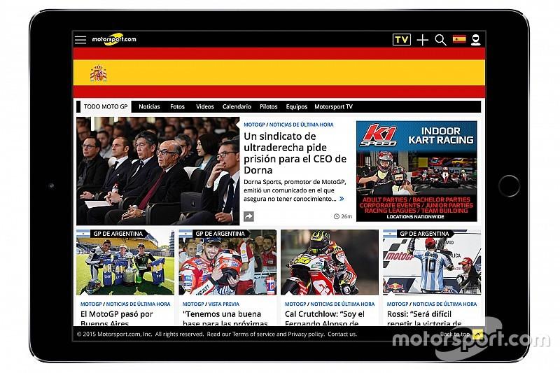 Motorsport.com lanza su nueva plataforma digital en España