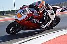 Marco Melandri ya rueda con Ducati