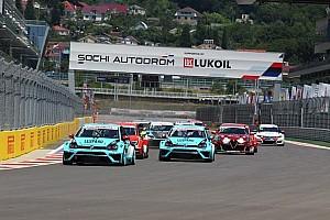 TCR Репортаж з гонки TCR в Сочі: Коміні починає та виграє
