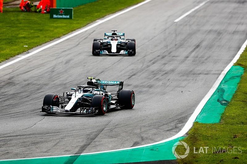 Bottas, Monza'da Hamilton'la aradaki farkın sebebini açıkladı