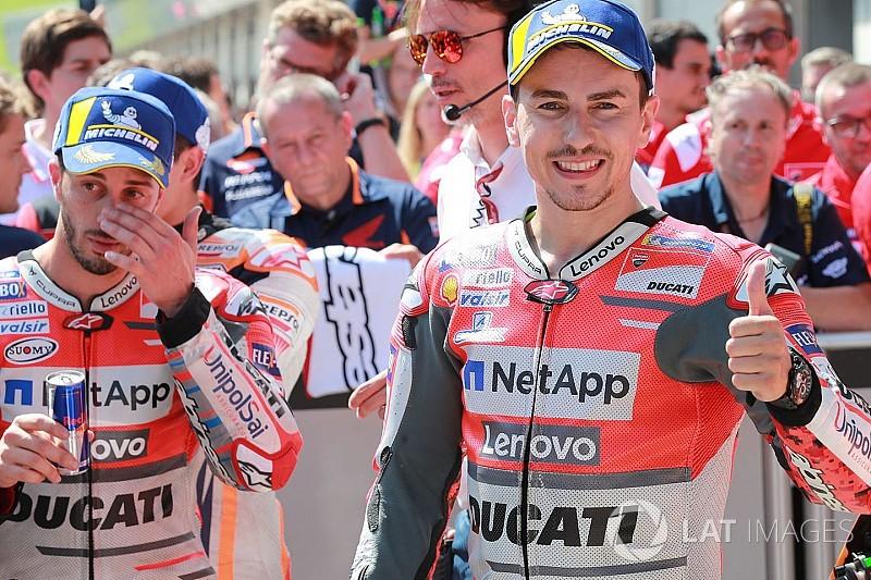 Stand MotoGP-kampioenschap 2018: Lorenzo derde na zege