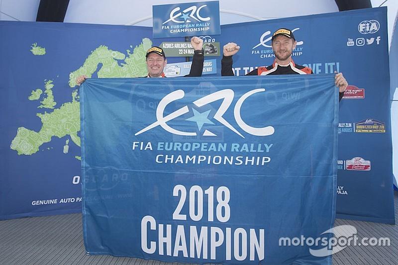 Il ritiro non nega il titolo ad Alexey Lukyanuk ed Alexey Arnautov: sono Campioni ERC 2018!