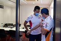 Proses Pemulihan Marc Marquez Positif