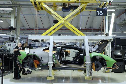 Die Geburt eines Lamborghini-Squadra-Corse-Autos
