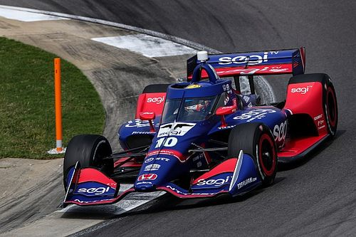 Barber IndyCar: Palou puts Ganassi on top in FP1