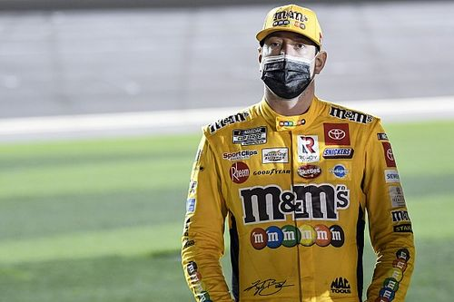 """Kyle Busch's first top-five of year part of """"building process"""""""