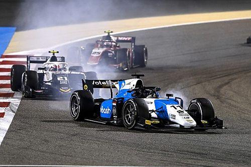 Verschoor en Viscaal in actie tijdens F2-test in Barcelona