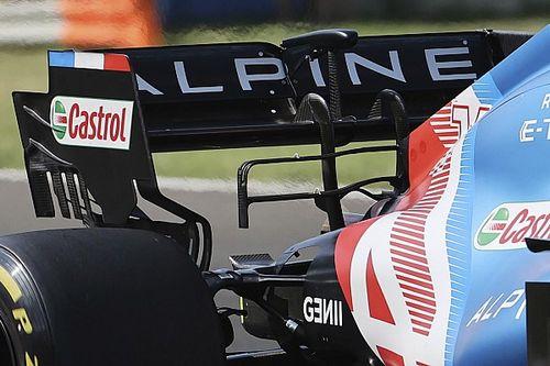 Formel-1-Technik: Detailfotos beim Ungarn-Grand-Prix 2021