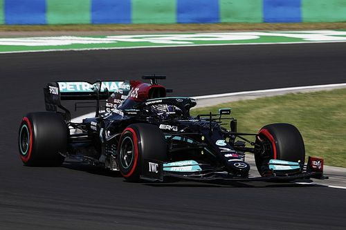 Hamilton voor Verstappen in laatste training GP van Hongarije