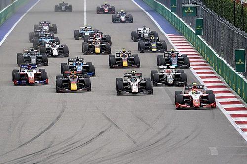 Pembalap F2 dan F3 Dukung Format Dua Balapan pada 2022