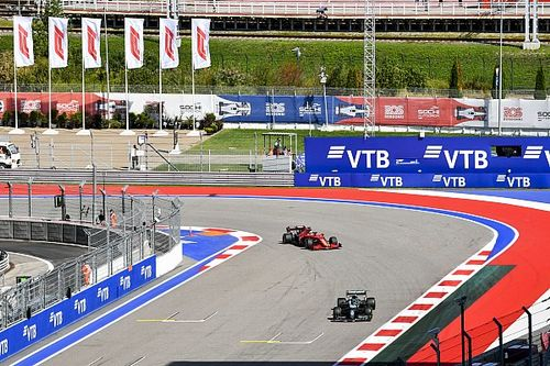 Uitslag: Tweede vrije training F1 Grand Prix van Rusland