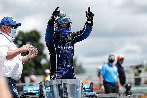 ロードアメリカレース2:ローゼンクヴィスト、ラスト2周の逆転劇。インディ初優勝を果たす