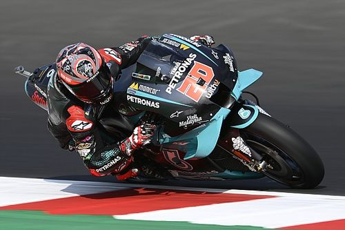 Misano MotoGP: Quartararo leads Petronas Yamaha 1-2 in FP1