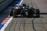 Russian GP: Bottas heads incident-filled first practice