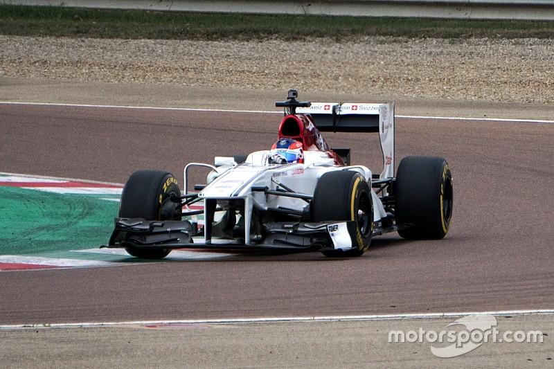 Diaporama : le test de Tatiana Calderón avec Sauber F1 à Fiorano
