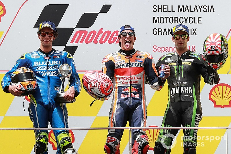 Sepang Motogp Rossi Crash Hands Marquez Easy Win