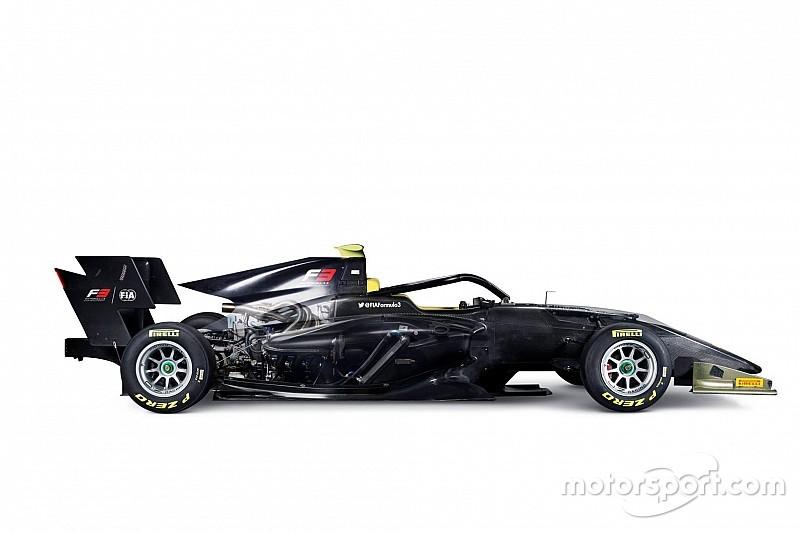 الكشف عن سيارة بطولة الفورمولا 3 الجديدة لموسم 2019