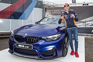 El M3 CS es el sexto BMW que gana Marc Márquez