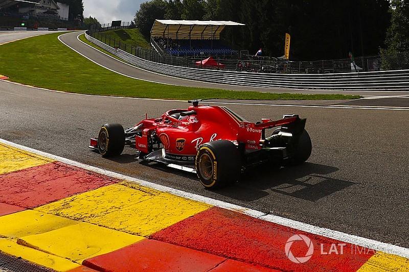 F1後半戦開幕! ベルギーFP1はベッテル首位発進。ガスリー11番手