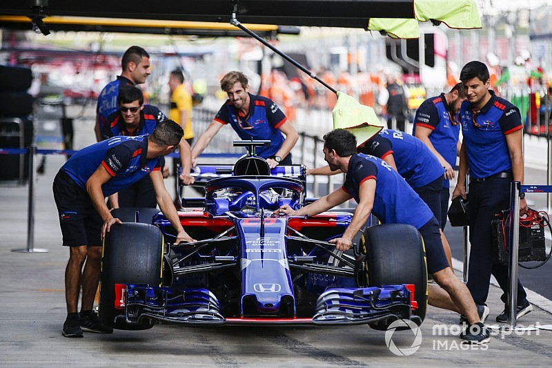 Toro Rosso pair set for penalties as Honda brings upgrade