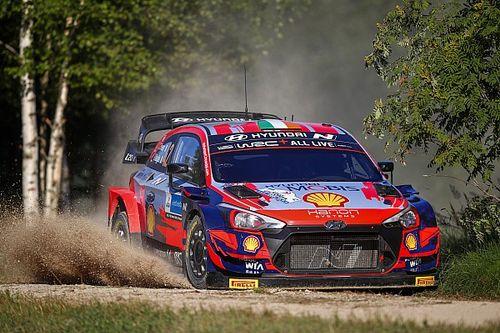 Breen hopes Estonia performance sent a message to WRC teams