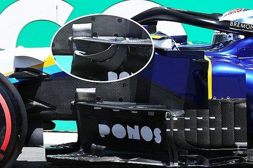 A Williams egy új bargeboarddal oldaná meg a szélérzékenységét