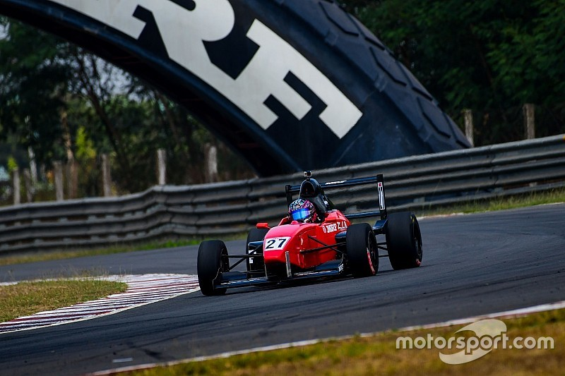 MRF F1600: Chatterjee leads after double win in Chennai opener