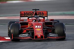 F1合同テスト2日目午前:好調フェラーリのルクレールがトップタイム。レッドブルのガスリーは5番手