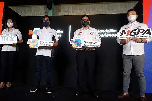 ITDC-MGPA Luncurkan Logo Resmi Mandalika GP Series dan Mandalika Xperiences