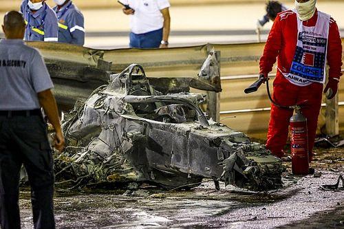 Choqués mais soulagés, les pilotes pensent à Grosjean