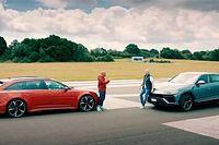 Kombi vagy SUV? Egymásnak esett a Lamborghini Urus és az Audi RS6 Avant (videó)