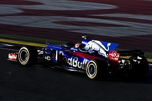 Forma-1 BRÉKING Figyeljük meg a Toro Rosso részleteit: közeli videó