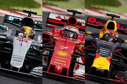 F1-Technik 2017: Was Mercedes, Ferrari und Red Bull unterscheidet