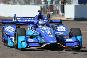 IndyCar Practice report St Pete IndyCar: Dixon leads second practice, Sato hits wall