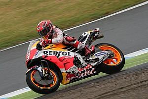 MotoGP Репортаж з практики Гран Прі Японії: Маркес став найкращим у четвертій практиці, Россі впав