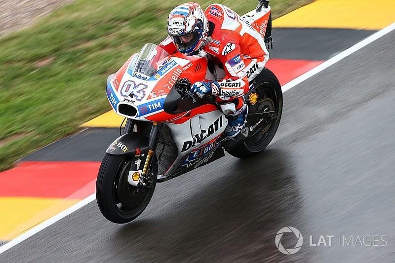 Dovizioso fue el más veloz al final del viernes en Brno