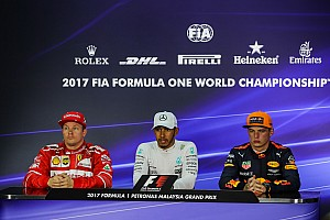 Formula 1 Press conference Malaysian GP: Post-qualifying press conference