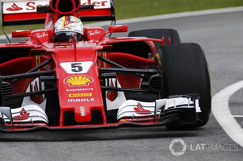 FP2 GP Malaysia: Kecelakaan Grosjean akhiri sesi, Vettel tercepat