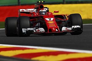 Formula 1 Practice report GP Belgia: Raikkonen ungguli Hamilton dan Vettel di FP1
