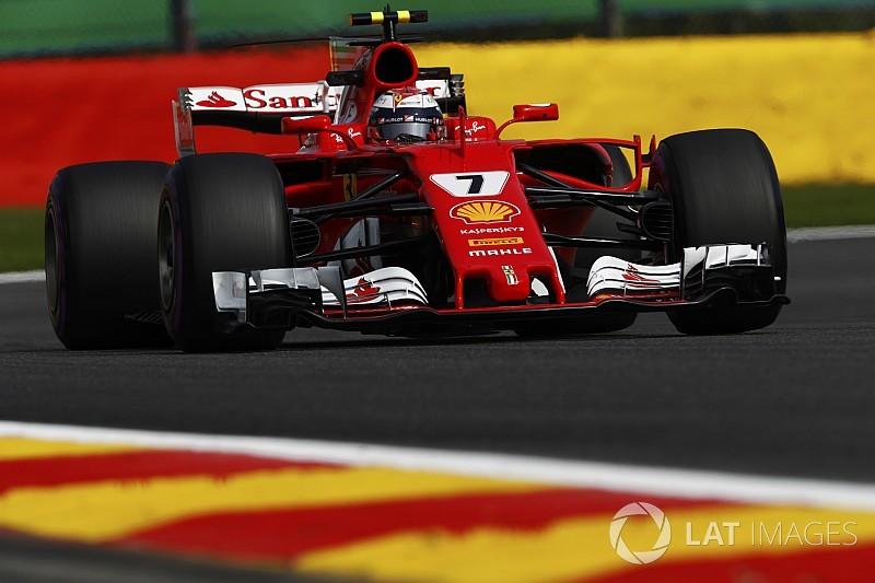 EL1 - Räikkönen en tête, Massa dans le mur